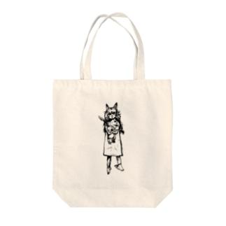 小川ァの猫の子 Tote bags