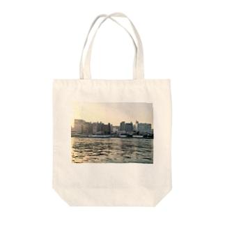隅田川 春 Tote bags