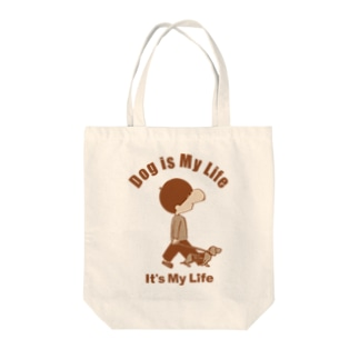 lovebitのIt's My Life / Boy:Dog Tote bags