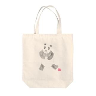 パンダさん Tote bags