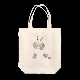 ★いろえんぴつ★のパンダさん トートバッグ