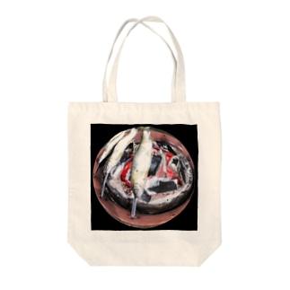 鮎の塩焼き Tote bags