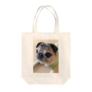 パグの休日 Tote bags