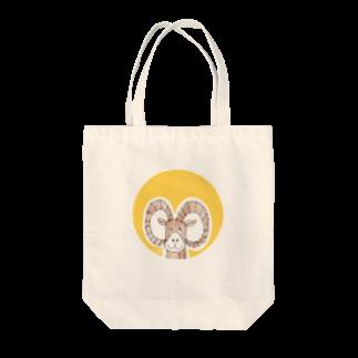 ★いろえんぴつ★のムフロンさん Tote bags