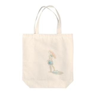 上陸少女 Tote bags