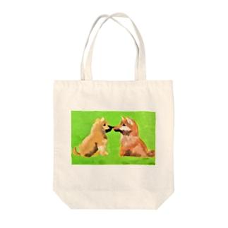 柴犬(しばことしばお) Tote bags