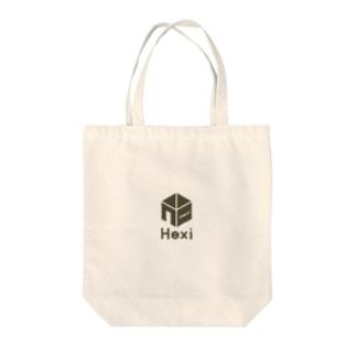 ヘクシーズヘキサゴン Tote bags