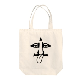Stick Out Man Tote bags