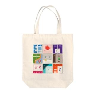 九字 Tote bags