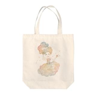 星のおかし Tote bags