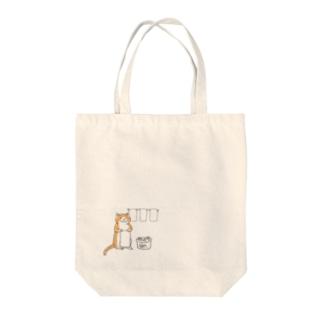 猫のおしごと Tote bags