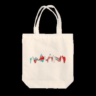 レオナのDancing Wave2 Tote bags