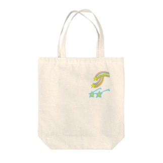 キラキラサングラス Tote bags