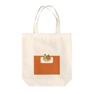 おやつはりんご  コマくんとフキダシおばけ Tote bags
