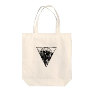 三種一骨 Tote bags
