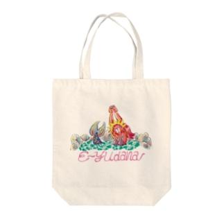 E~YUDANA Tote bags