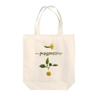 オハデザインのさしみの飾り Tote bags