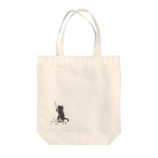 猫のおしごと その2 Tote bags