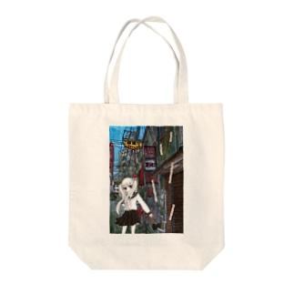 蒲田 Tote bags