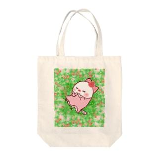 眠り姫ちゅん Tote bags