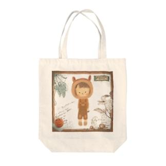 りすのこ Tote bags