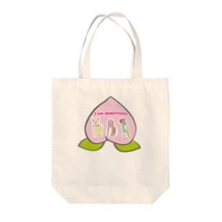 I am MOMOTAROU Tote bags