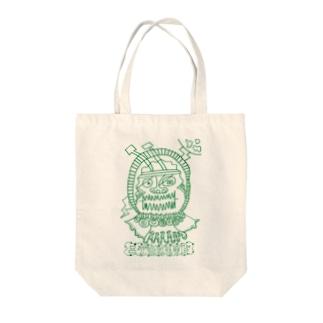 にげかす Tote bags