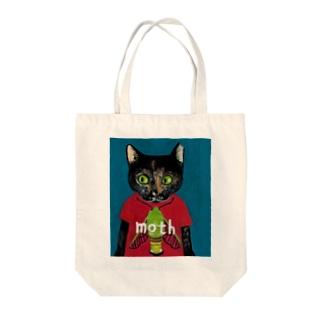 のっぴきならない/保護猫ビッケ Tote bags