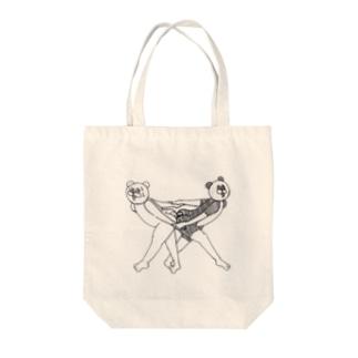 お尻合い❤ Tote bags