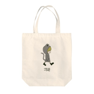 It's My Life / Girl:Land Like a Cat Tote bags