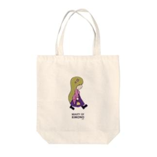 It's My Life / Girl:Beauty of Kimono Tote bags