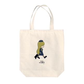 It's My Life / Girl:Up in The Sky Tote bags