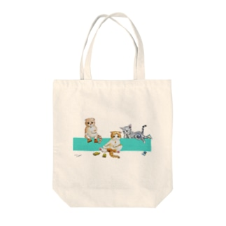 IKAPON CATS Tote bags