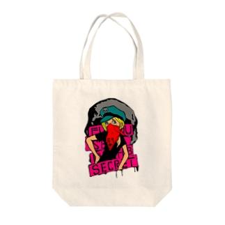 *ニゲラ* Tote bags