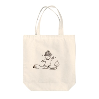 モンブランヘア Tote bags