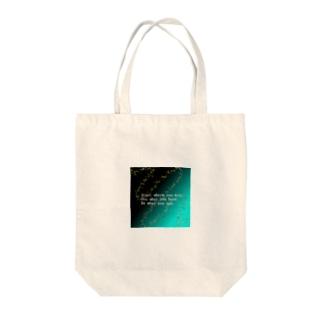 天の川 Tote bags