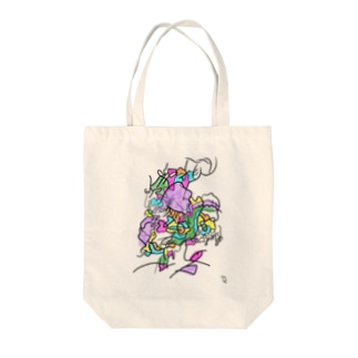 blessed rain #1 Tote bags