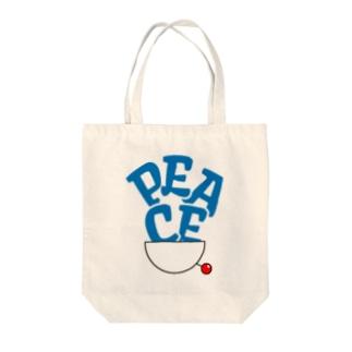 PEACE青-01 Tote bags