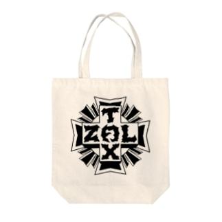 十字キー Tote bags