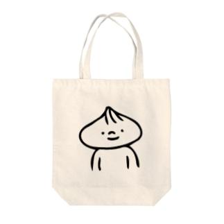 肉まんまん(胸より上) Tote bags