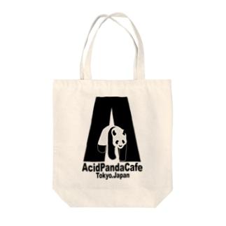 ACID PANDA CAFE Tote bags