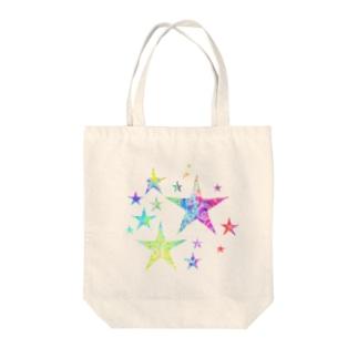 スタァ Tote bags