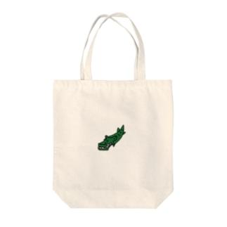 わに Tote bags