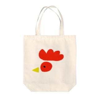 庭にはニワトリ Tote bags