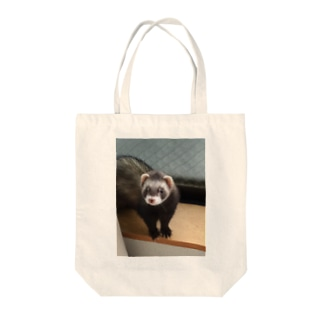 フェレット Tote bags