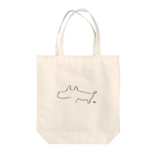生活に溶け込むコーギィ Tote bags