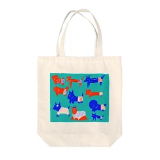 サマードックス Tote bags