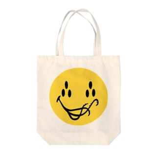 Smiling Cthulhu Tote bags