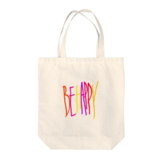 BE HAPPY Tote bags