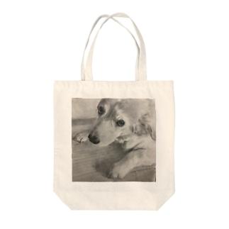 チョコ3 Tote bags